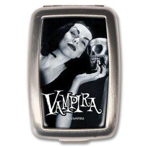 Accessories - Vampira & Skull Pill Box - Meds on the Go!